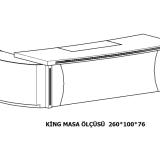 01-King MASA ÖLÇÜSÜ